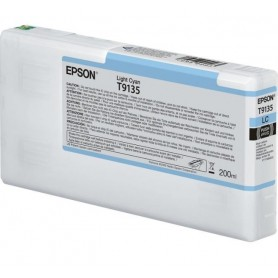 T9135-TANICA INCHIOSTRO LIGHT CIANO PER PLOTTER EPSON SURECOLOR SERIES SC-P5000