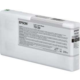 T9139-TANICA INCHIOSTRO LIGHT LIGHT NERO PER PLOTTER EPSON SURECOLOR SERIES SC-P5000