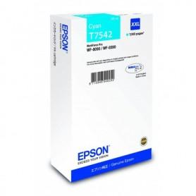 Cartuccia Epson originale ciano XXL C13T754240