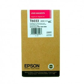 Cartuccia inchiostro vivid magenta T603300