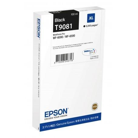 Tanica Epson originale nero XL C13T79014010