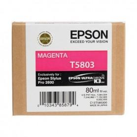 Cartuccia inchiostro magenta T5803