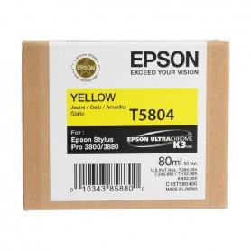 Cartuccia inchiostro colore giallo T5804