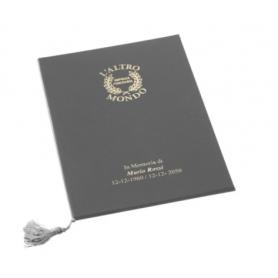 Libro firma con cordoncino con copertina dura fashion
