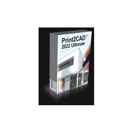 Print2CAD 2022 Ultimate